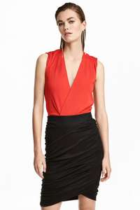 V Neck wrapover body - @ H&M online WAS £24.99! - £7.99 Free c&c