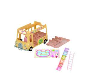 Sylvanian Families - Nursery Double Decker Bus £8.00, Chocolate Rabbit Grandparents £5.10, Baby Sleigh Ride £7.60, Baby Trick or Treat £5.10 @ Amazon (+ £3.99 / £4.75 non Prime)
