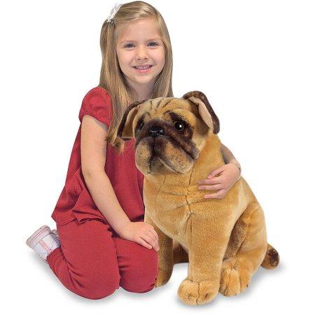 Melissa & Doug Large Pug Plush (46cm) now £10 Prime / £14.75 Non Prime @ Amazon