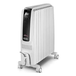 De'Longhi TRDS41025E 2.5kW Dragon-4 Oil Filled Radiator with Timer in White £116.99 with code @ Hughes