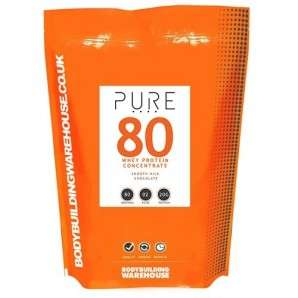 Pure Whey 80 Protein Powder 5kg £38.99 delivered with code BEST40 @ BodybuildingWarehouse