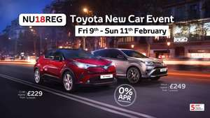 TOYOTA 0%APR Managers pricelist event 9th-11th NATIONALLY