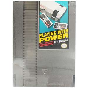 Playing With Power - NES Classics £5 @ Works (Free C&C) & Amazon (£1.99 delivery non prime)