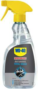 WD-40 Motorbike Total Wash 500ml for £1 @ Halfords (Free C&C)