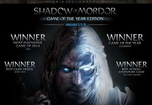 PC :- Middle-earth: Shadow of Mordor Game of the Year Edition (Steam) £3.19 Via Fanatical.com Great Game with all the content.
