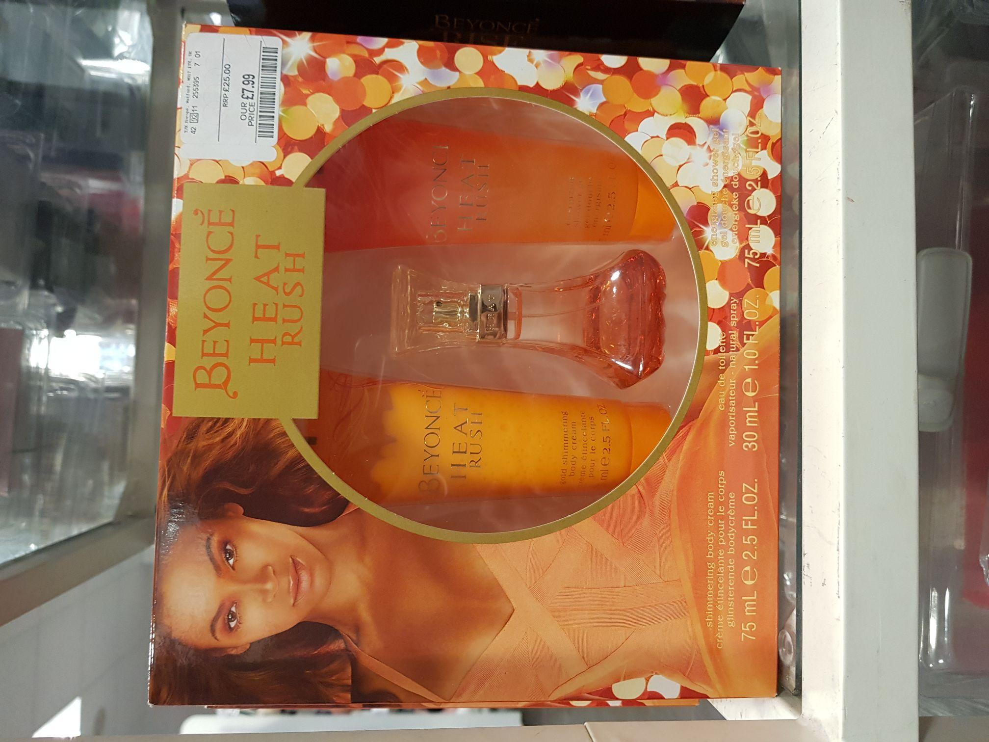 Beyonce heat. Gift pack £7.99TK Maxx - Gallions reach