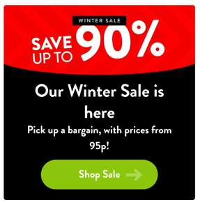 Character.com sale. New items from 95p. Pjs, t shirts, backpacks, swimwear 90% off winter sale