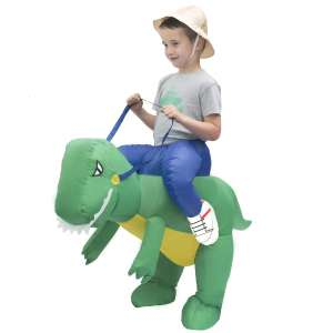 Kids Inflatable Dinosaur or Unicorn Costume now £16 Del w/code @ Hobbycraft (one size age 3-10yrs)