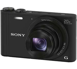 SONY Cyber-shot DSC-WX350B Superzoom Compact Camera - Black £159 @ Currys