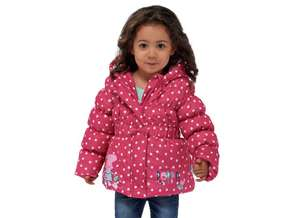 Peppa Pig Pink Coat (18/24m, 3-4yrs, 4-5yrs) now £7.99 @ Argos