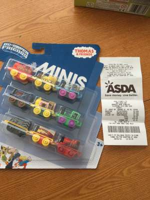 Thomas & Friends DC Super Friends Minis 9 pack £5 in-store @ Asda, Pudsey