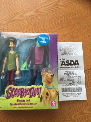 Zoinks!!! Scooby-Doo Series 3 Shaggy and Frankenstein's Monster figure pack £1.49 @ Asda in-store Pudsey