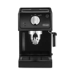 DeLonghi - Black 'Pump' espresso coffee machine ECP 31.21 - Was £155.00 now £80 @ Debenhams