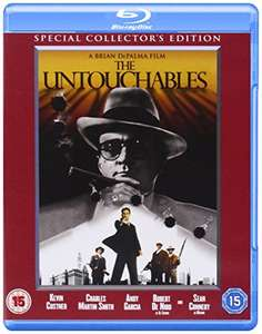 The Untouchables Blu Ray Amazon £4.49 Prime / Without £6.48