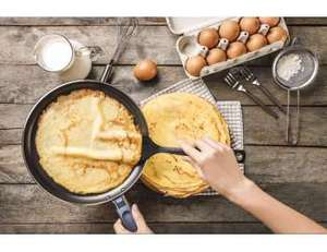 Get £5 cashback on Pancake ingredients - Quidco ClickSnap instore only