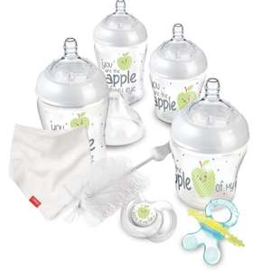 Nuby Natural Touch Newborn Starter Kit was £22.99 now £11.48 C+C @ Toys R Us