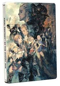 Final Fantasy XII The Zodiac Age Steelbook Edition (PS4) + T-Shirt (Large) - £16.85 Delivered @ ShopTo
