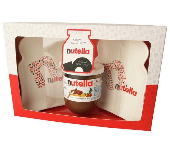 Nutella toast plates & 200g jar set @ argos £3.99 was £19.99! Free c&c