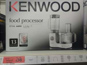 Kenwood FP 190 food processor - £36 instore @ Sainsbury's (Arndale Centre)