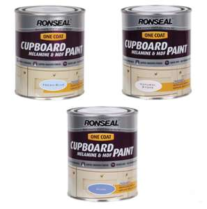 Ronseal One-Coat Cupboard Paint 750ml £9.48 delivered - Graham & Brown 2.5L Matt Emulsion £12.98 delivered @ Brooklyn Trading