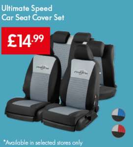 Ultimate speed car seat cover £14.99 @ Lidl
