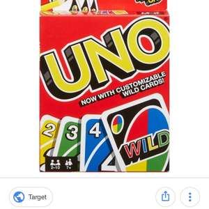 UNO wild card game £2 Wilko - Wythenshawe