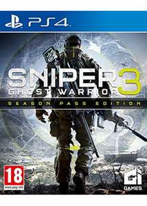 Sniper: Ghost Warrior 3 - Season Pass Edition (PS4) £14.85 Delivered @ Base