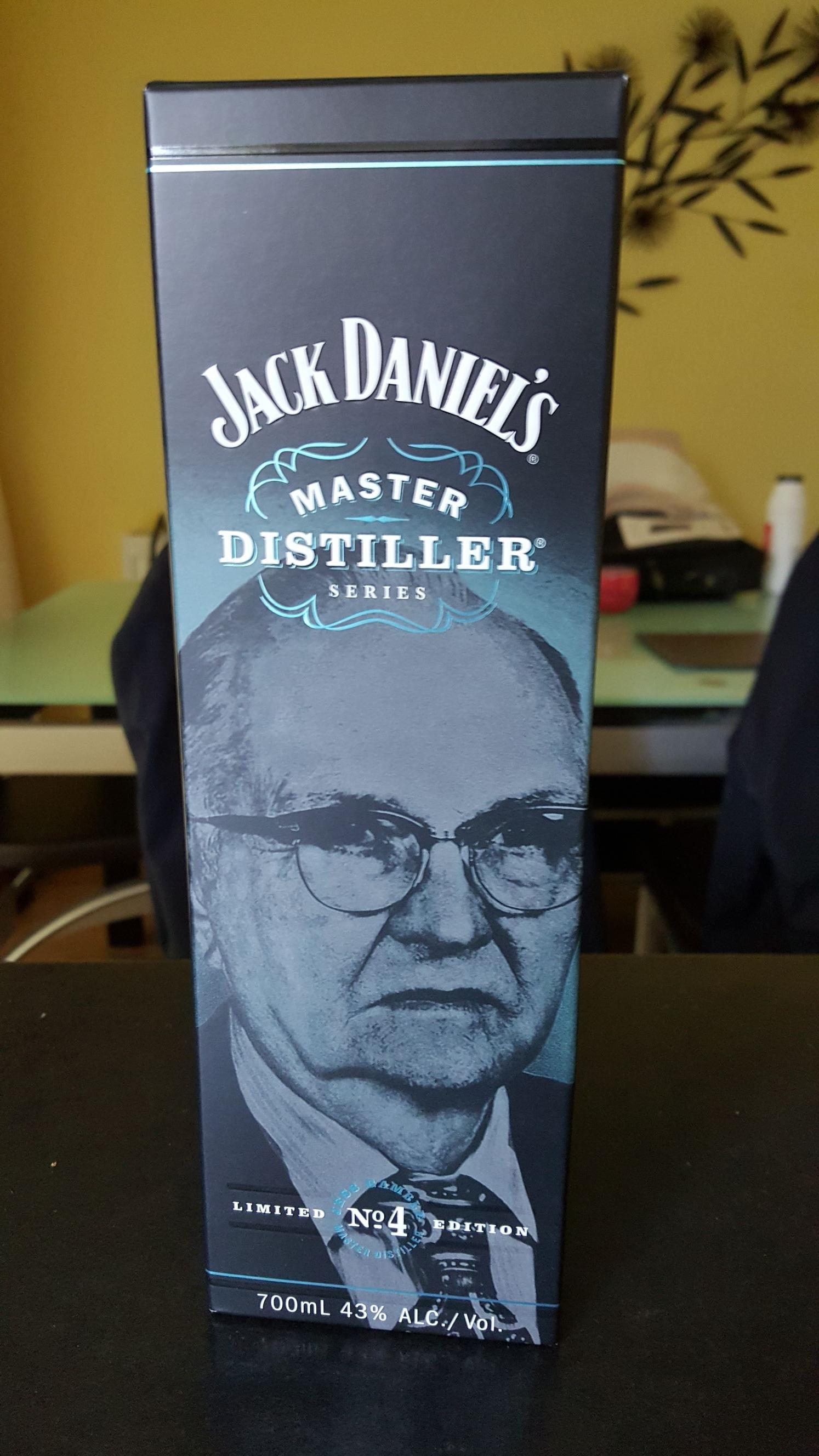 Jack Daniel's No4 Master Distiller £20 @ Sainsbury's online / instore