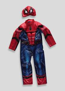 MARVEL Spiderman,ironman,hulk,capt america dressing up costume & mask £12 each @ matalan