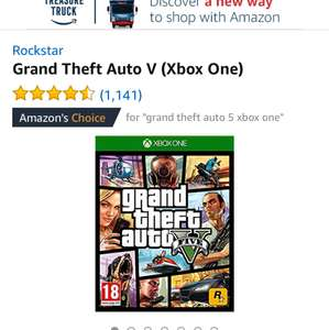 GTA 5 Xbox and PS4 £24.99 @ Amazon