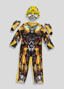 Transformers dressing up outfit & mask OR PJ Masks owlette,catboy,gecko outfit & mask now £12 @ matalan