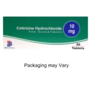 4 x Cetirizine 10mg Tablets - 30 Tablets - FREE DELIVERY - UNBOXED - £2.79 @ PharmacyFirst