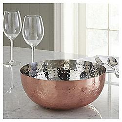 Hammered Copper Serving Bowl £5 at tesco direct