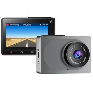 YI Dash Camera 1080P 60FPS - £30.99 using £9 off promo - Sold by Seeverything UK and Fulfilled by Amazon