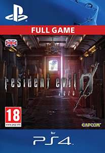 Resident Evil 0 (PS4 - PSN code) £5.79 at Amazon