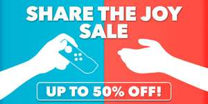 Up to 50% off on selected Switch games @ Nintendo!