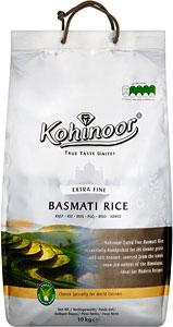 Kohinoor Extra fine basmati rice £10 for 10kg @ Asda