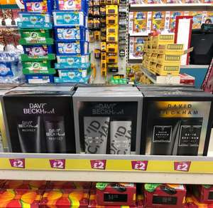 David Beckham Shower gel & Deodorant spray £2 in Poundland Ilford