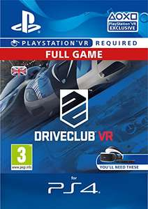 Driveclub VR (PS4 (PSVR) - PSN code) £11.99 at Amazon