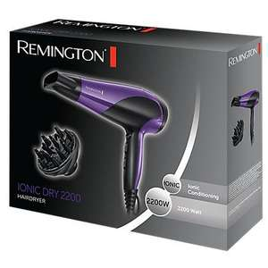 Remington D3190 Ionic Dry Hair Dryer 2200W. Was 39.96 now £20 @ George