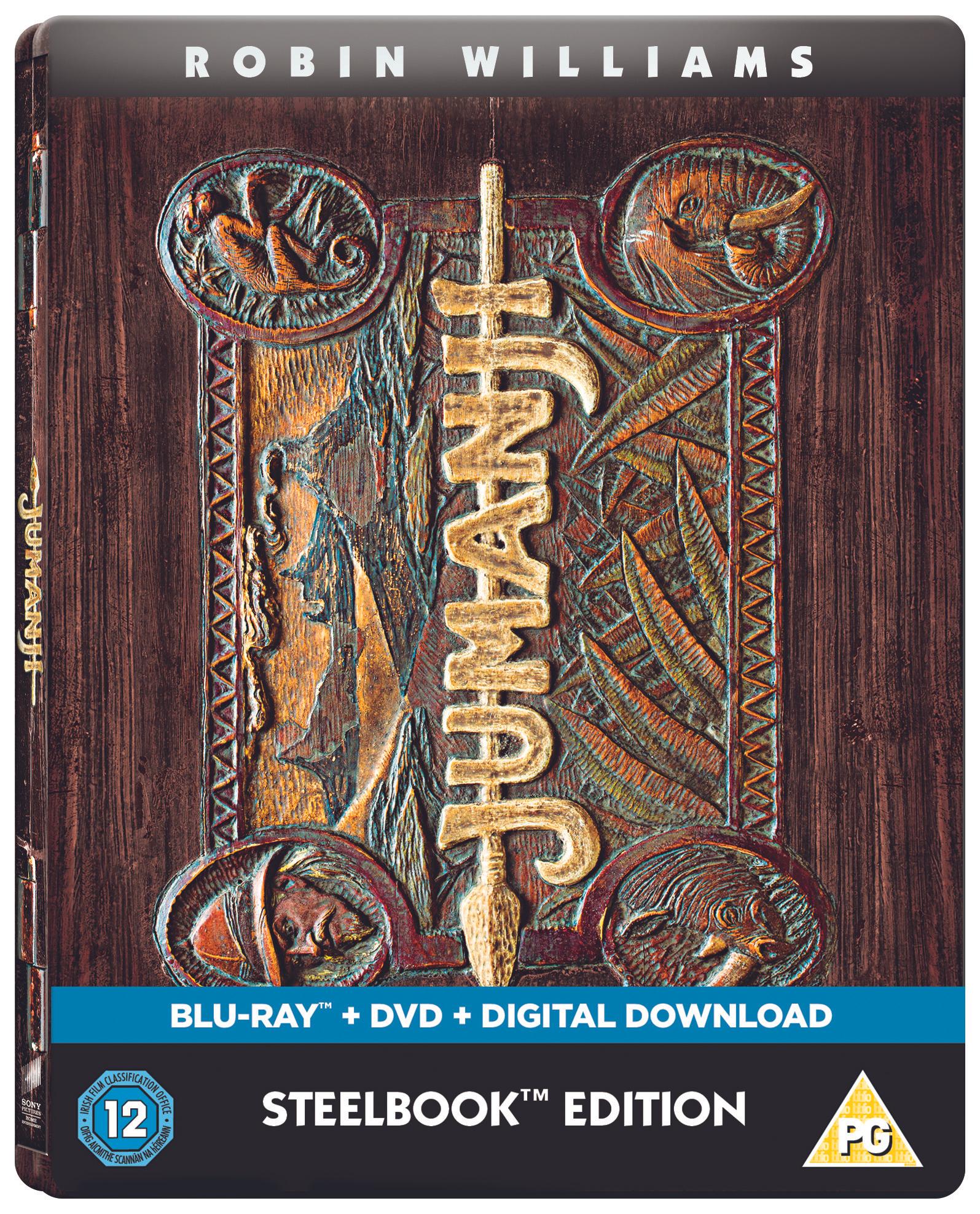 Jumamji steelbook edition £15 @ HMV
