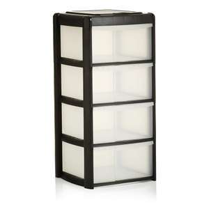 Wilko Storage Unit 4 Drawer Assorted reduced to £10
