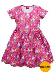 DreamWorks TrollsGirls Floaty Dress £7 @ Very