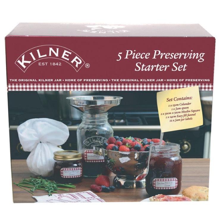 Kilner 5 Piece Preserving Starter Kit £4.50 @ Sainsbury