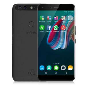 Infinix Zero 5 ( X603 ) 4G 2.5D FHD Phablet Global Version Android 7.0 5.98 inch Helio P25 2.6GHz Octa Core 6GB RAM 64GB ROM Real Dual Rear Cameras Band 20 @ Gearbest £176.15