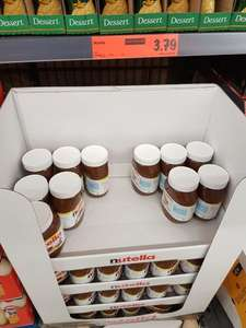 1kg of Nutella Hazelnut Chocolate Spread - LIDL (cheaper by 1p than Tesco) - £3.79