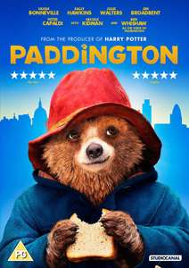 Paddington HD sky download + DVD + 4 bags of chocolate (currently £1 each in Co-op) Total = £4