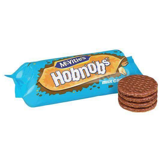 McVities Chocolate Hobnobs JUMBO packs 431g are £1 @ Poundland!