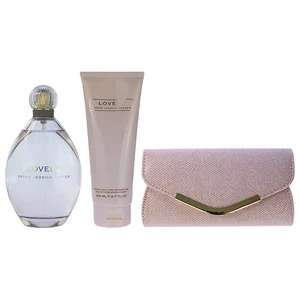 Sarah Jessica Parker Lovely 200ml Eau de Parfum giftset for £19.54 delivered. @ The Perfume Shop