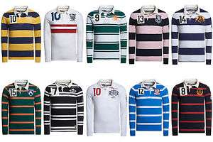 New Mens Superdry Factory Seconds Great rugby shirt £18.49 Superdry / Ebay